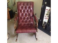 Chesterfield rocking chair