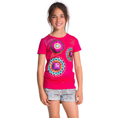 Camiseta de niña Desigual modelo AEL - 50T30B4-3022-4 image