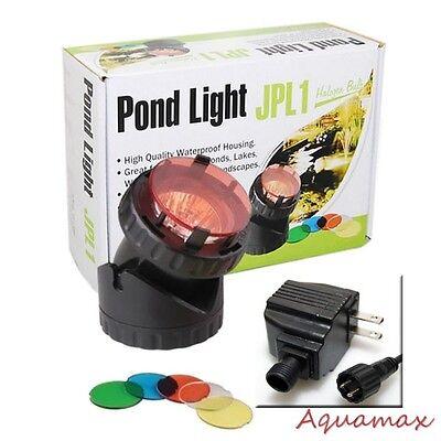10W Single Underwater Submersible Halogen Pond Fountain Pool Light - 10w Halogen Submersible Light