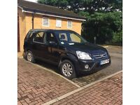 honda CRV 2005 manual diesel black