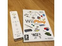 Nintendo wii play and remote controller pad