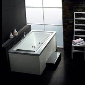 New AM146 - Whirlpool Bathtub for One Person