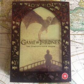 Game of Thrones Dvd box set season 5