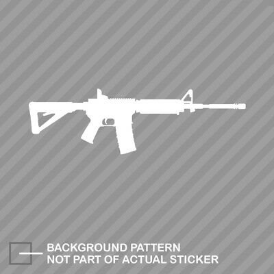 Flat Top AR15 M16 Sticker Decal Vinyl ar-15 m-16 #3