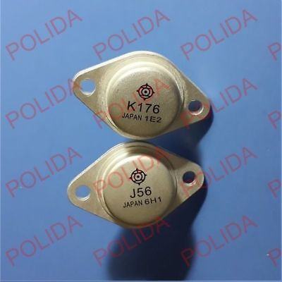 1pairs Audio Power Transistor Hitachi To-3 2sj562sk176 J56k176