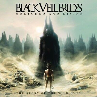 Black Veil Brides   Wretched And Divine  The Story Of The Wild Ones  Cd New