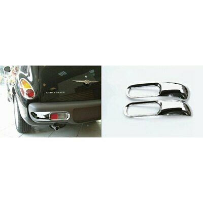 For Chrysler PT Cruiser 01-05 Rear Driver & Passenger Side Bumper Trim Set