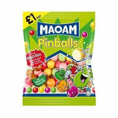 Haribo Maoam Pinballs Pm £1.00 180g (Pack Of 12)