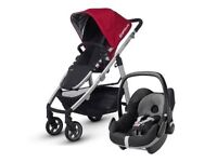 UPPABABY VISTA PUSHCHAIR 2015 including MAXI COSI PEBBLE