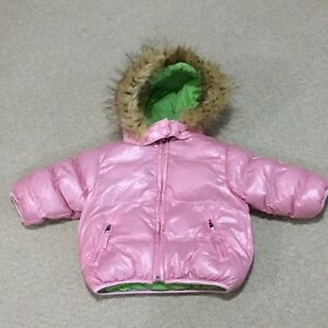 Size 12 months girls winter jacket