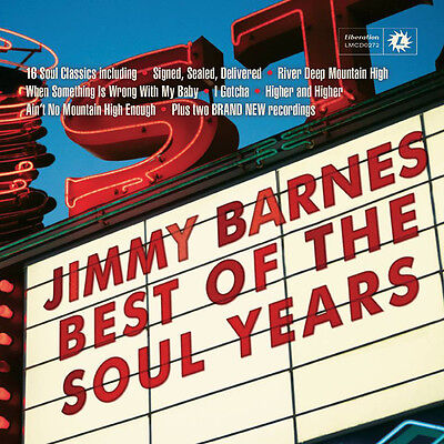 Jimmy Barnes - Best of the Soul Years (2015)  CD  NEW  (Jimmy Barnes Best Of The Soul Years)