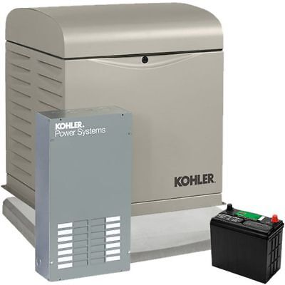 Kohler 12resvl - 12kw Home Standby Generator System 100a 12-circuit Automati...