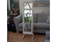 Mirror cheval swing mirror