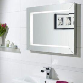 Roper Rhodes Sense Fluorescent Illuminated Mirror 60cm x 80cm – bargain