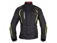 Motorbike Jacket Waterproof ( all protector pockets) Size L (BRAND NEW)