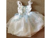 Fairy snowflake costume age 5-6 years