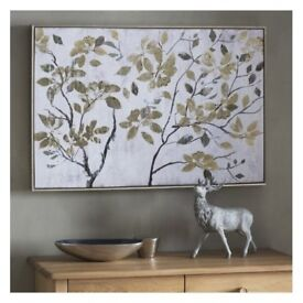 1 x Autumn Leaves Framed Art by Gallery Direct