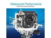BRAND NEW! 1080P Waterproof Sports Camera Action Cam DV Video Helmet for Bike skydiving etc