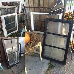 antique windows, old doors, furniture , decor & more!