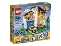 31012 Lego creator family house 100% complete with box and instructions