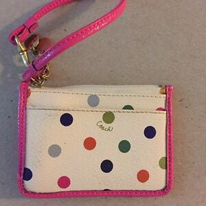 Authentic Small Coach Clutch