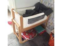 Snuzpod baby basket cot 3-in-1