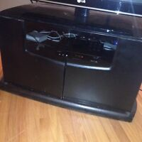 Black TV Stand - MOVING Sale!!