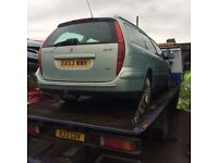 Citroen c5 estate 2.2 hdi 6-speed (for parts )