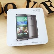 As new HTC ONE M8 space grey 16G AU model in box with charger Calamvale Brisbane South West Preview