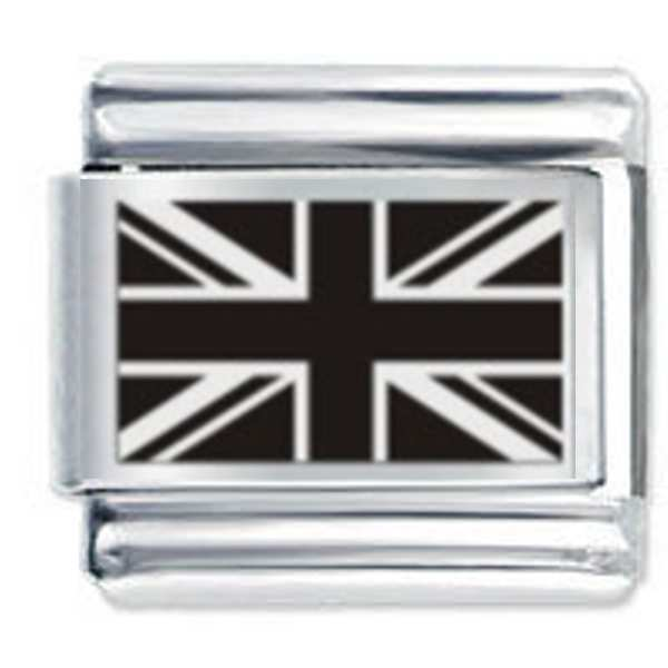 2 Union Jack Flag Shoe Charms Free UK P/&P