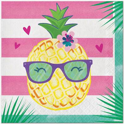 Pineapple Birthday (Pineapple and Friends Birthday Party Supplies Large Lunch)