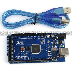 Mega-2560-Board-Microcontrollore-ATmega2560-16AU-USB-Cavo-5V-per-Arduino