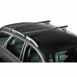 barres de toit acier citroen c4 aircross d s 2012 avec barres longitudinales ebay. Black Bedroom Furniture Sets. Home Design Ideas