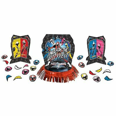 Power Rangers Ninja Steel Table Decoration Kit (23pc) Birthday Party Supplies - Power Rangers Party Decorations