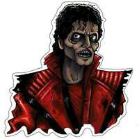 Michael Jackson Thriller Scary Vinyl Sticker & other scary guys