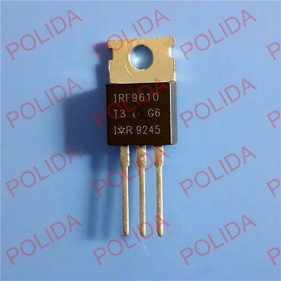 10pcs Mosfet Transistor Irvishaysiliconix To-220 Irf9610 Irf9610pbf