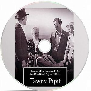 Tawny Pipit Black And White Public Domain film Converted To DVD