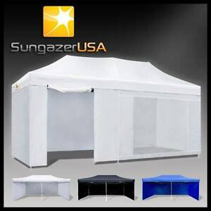 Gazebo 3x6m Outdoor Folding Marquee Tent Canopy Pop Up Party Myocum Byron Area Preview