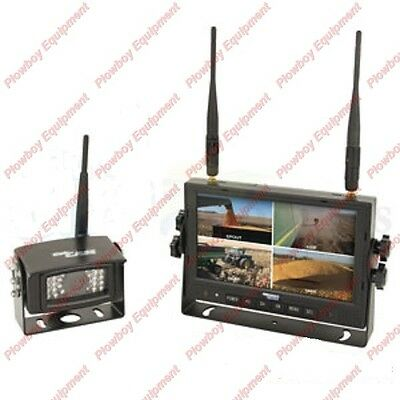 Digital Wireless Camera Kit For Claas New Holland John Deere Krone Massey Kubota