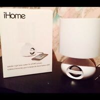 iHome Speaker Night Lamp for ALL MP3 Players
