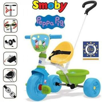 Smoby Be Move Driewieler - Peppa Pig