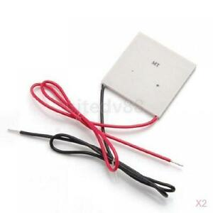2x-TEC1-12709-100W-12V-Thermoelectric-Cooler-Peltier-Plate-12V-40mm-x-40mm-New