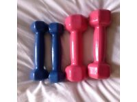Two sets of weights