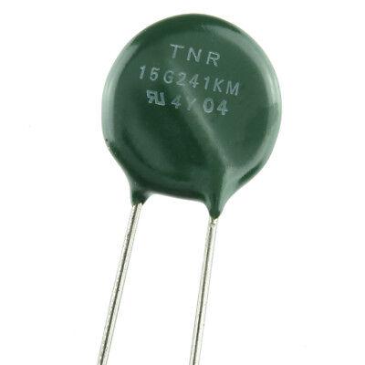 Marcom Tnr15g241km Metal Oxide Varistor Mov Lot Of 5 Usa Seller