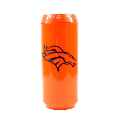 Denver Broncos 16-Ounce Travel Mug, Can Style Denver Broncos Travel Mug