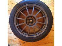 Mitsubishi evo VIIII MR FQ340 Alloys wheels X2