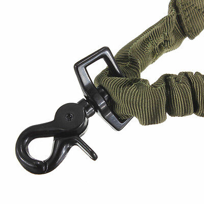 AR 15 AR-15 Tactical Single 1 One Point Bungee Sling Quick Release OD Green USA