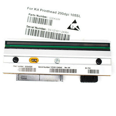 203 Dpi 105sl Printhead - US New Printhead for Zebra 105SL Thermal Label Printer 203dpi G32432-1M