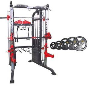 F50 Functional Package, Includes 100KG Olympic Rubber Plates