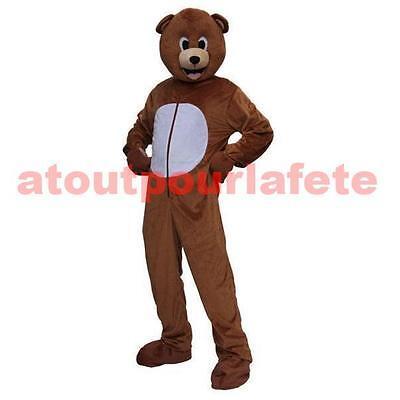 Kostüm,Maskottchen Bär,Animal,dicke - Dick Kopf Kostüm